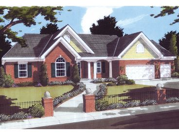 Traditional House Plan, 046H-0120