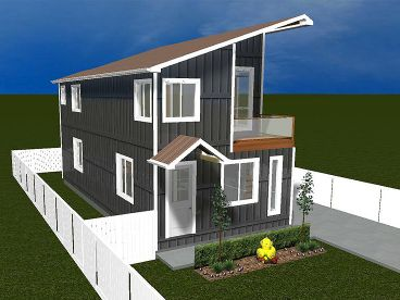 Contemporary House, 065H-0055