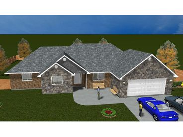 Traditional House Plan, 065H-0064