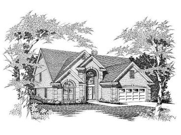 Family House Plan, 061H-0080