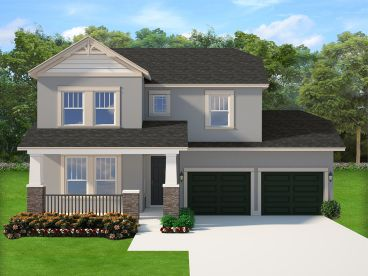 Two-Story House Plan, 064H-0114