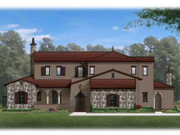 Mediterranean Home Plan, 064H-0049