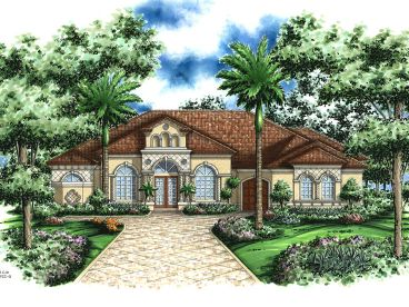 One-Story House Plan, 040H-0052