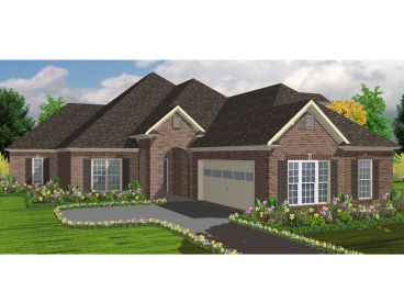 Traditional House Plan, 073H-0048