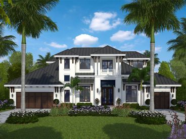 West Indies House Plan, 037H-0239