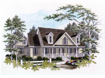Country House Plan, 019H-0047