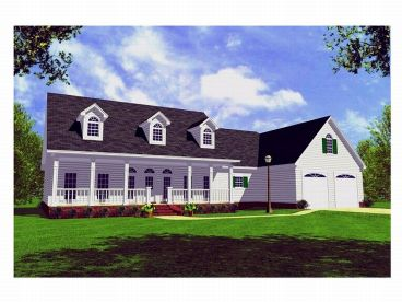 One-Story House Plan, 001H-0092