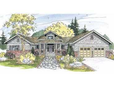 Contemporary Home Plan, 051H-0040