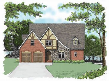European House Plan, 029H-0020