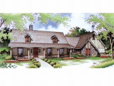 Country Home Plan, 021H-0063