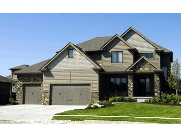 Family House Plan, 031H-0208
