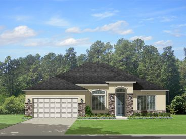 Sunbelt Home Plan, 064H-0072