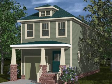 Bungalow House Plan, 058H-0063