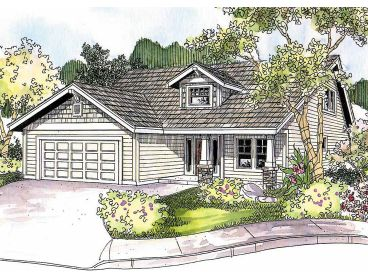 Affordable House Plan, 051H-0154
