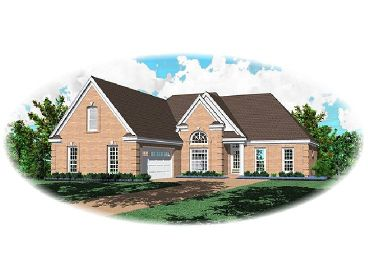 Traditional Home Plan, 006H-0077