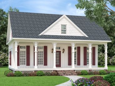 Cottage House Plan, 021H-0276