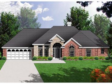 Traditional House Plan, 015H-0040