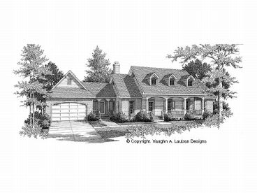Country Home Plan, 004H-0031