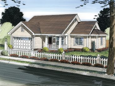 Country Traditional House, 059H-0143
