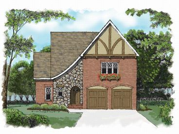 Two-Story Home Plan, 029H-0017