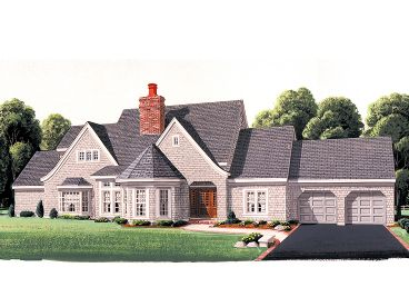 Luxury Home Plan, 054H-0028