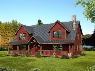 Country House Plan, 068H-0043