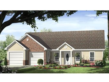 Affordable House Plan, 001H-0122