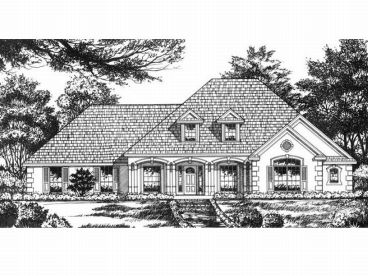 Florida Style Home Plan, 015H-0081
