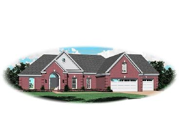 One-Story Home Plan, 006H-0089