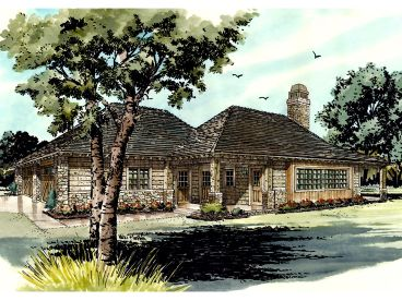 Vacation Home Plan, 066H-0023