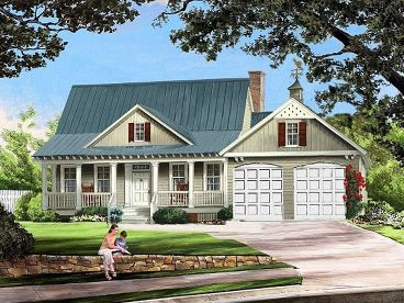Country Home Design, 063H-0119