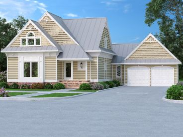 Two-Story House Plan, 021H-0248