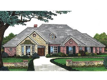 Ranch House Plan, 002H-0020