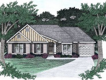 1-Story Home Plan, 045H-0038