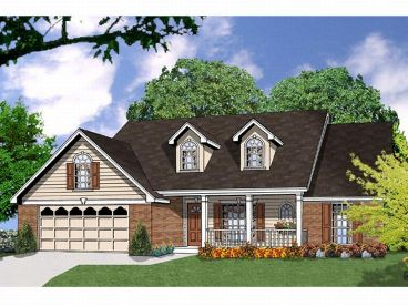 Country Home Plan, 015H-0047