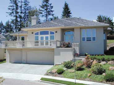 Hillside Home, Front, 034H-0008