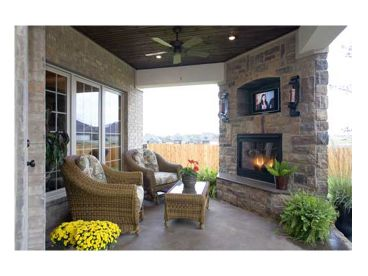 Outdoor Living Area, 025H-0152