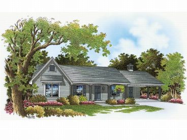 Country House Plan, 021H-0036