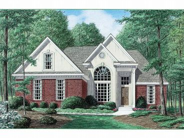 Ranch House Plan, 011H-0005