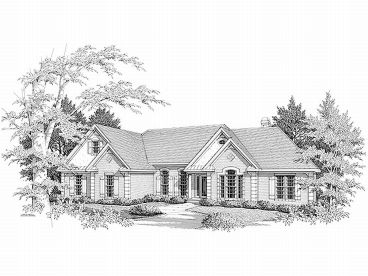 One-Story House Plan, 007H-0067