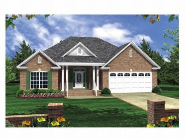 Traditional Home Plan, 001H-0028