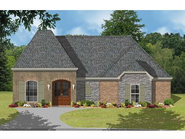 Family House Plan, 060H-0022