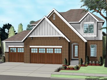 Family House Plan, 050H-0105