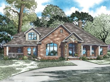 Luxury Ranch Home, 025H-0097