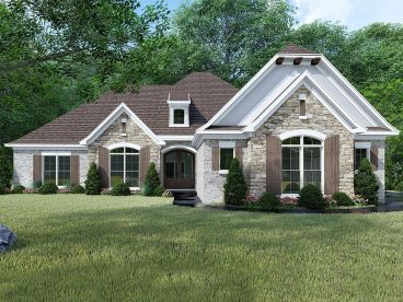 European House Plan, 074H-0046