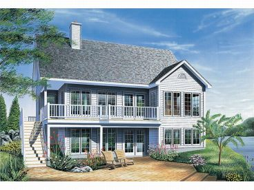 Vacation Home Plan, 027H-0147