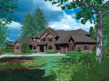 Luxury House Design, 034H-0134