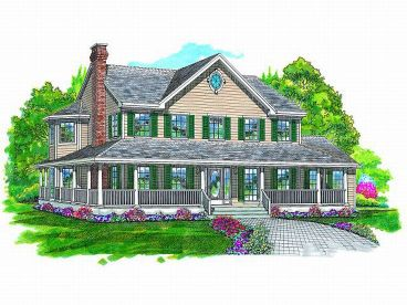 Farmhouse Design, 032H-0026