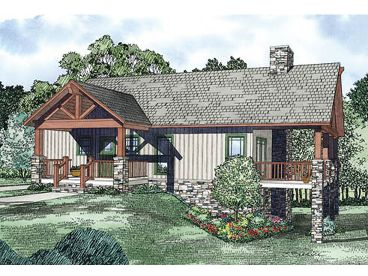 Ranch House Plan, 025H-0230