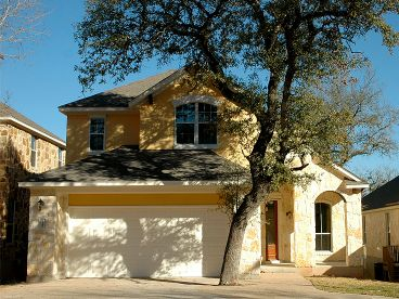 Narrow Lot Home Photo, 036H-0079